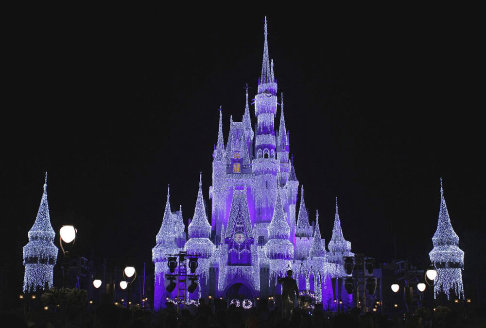 New Year's Eve at Disney World - Cinderella Castle
