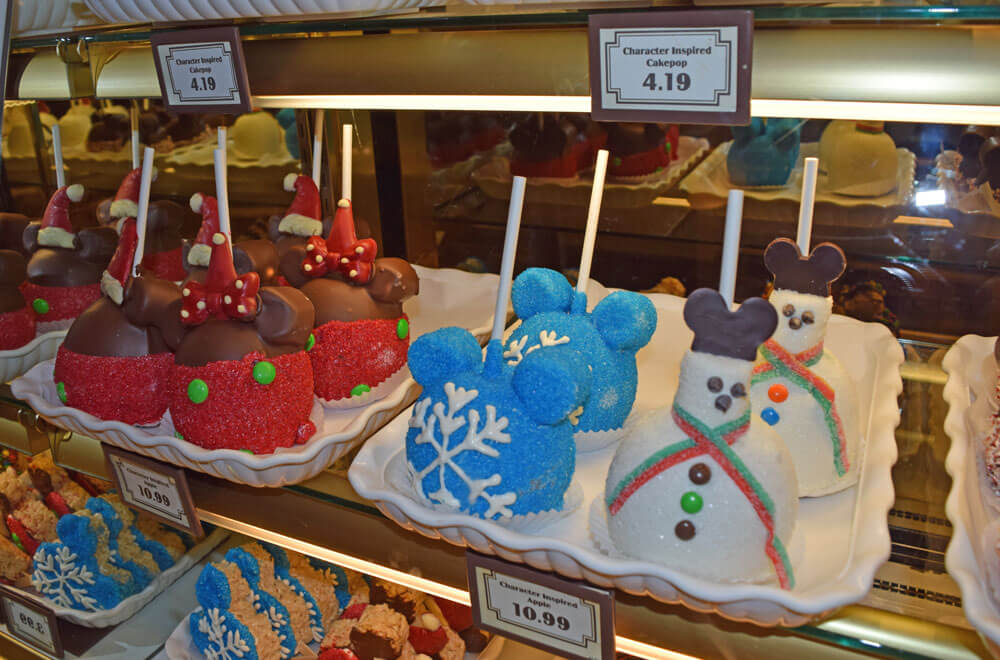 Holiday Treats at Disneyland - Caramel Apples