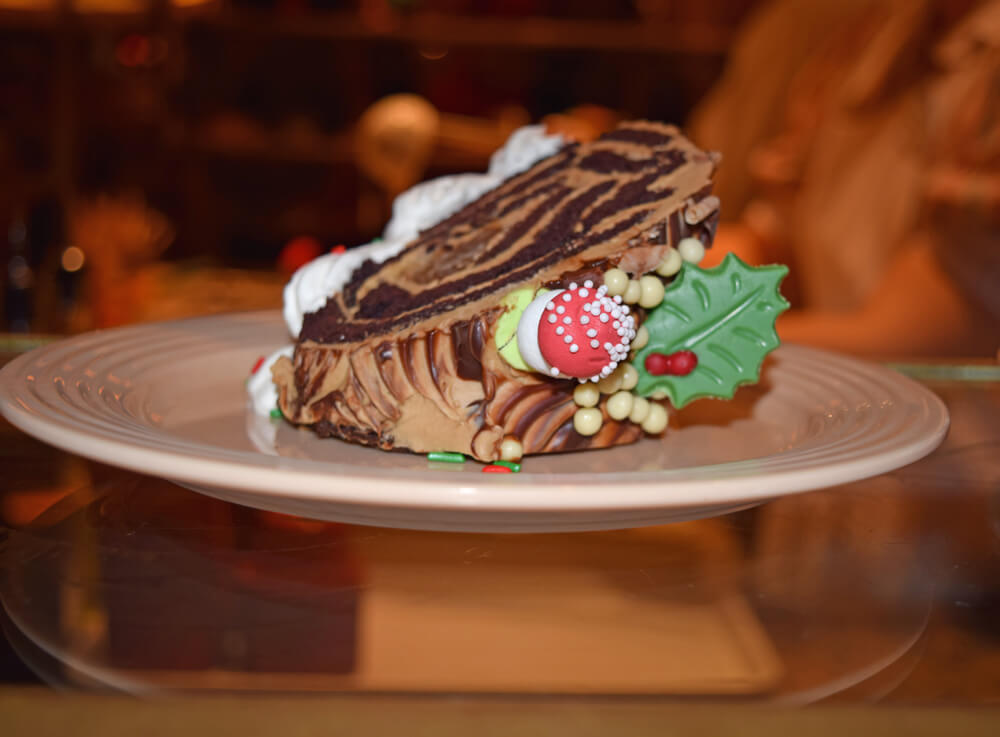 Holiday Treats at Disneyland - Yule Log