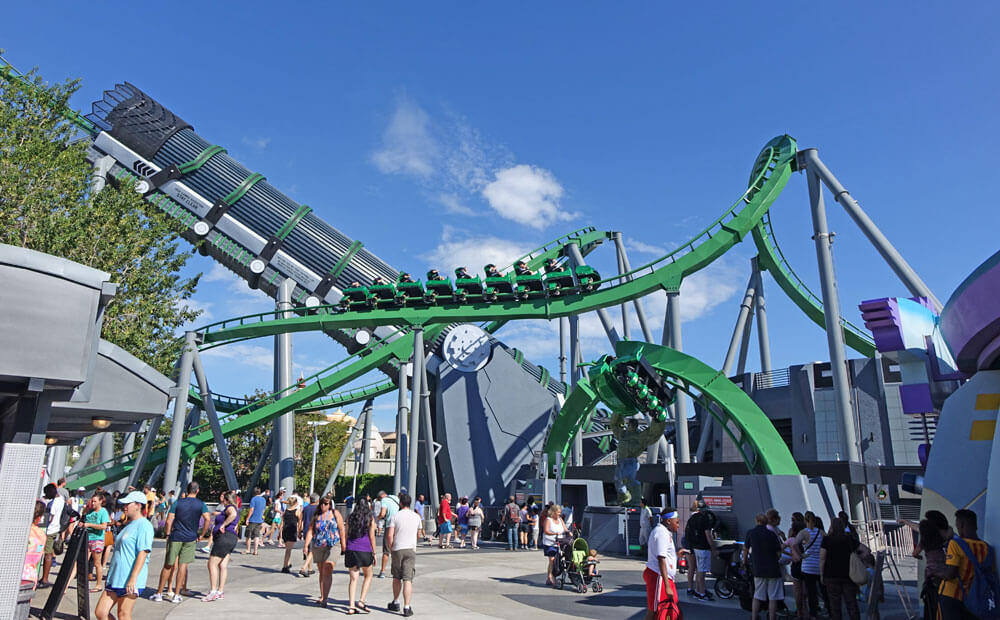 Best Time to Visit Universal Orlando in 2019 - Incredible Hulk Coaster