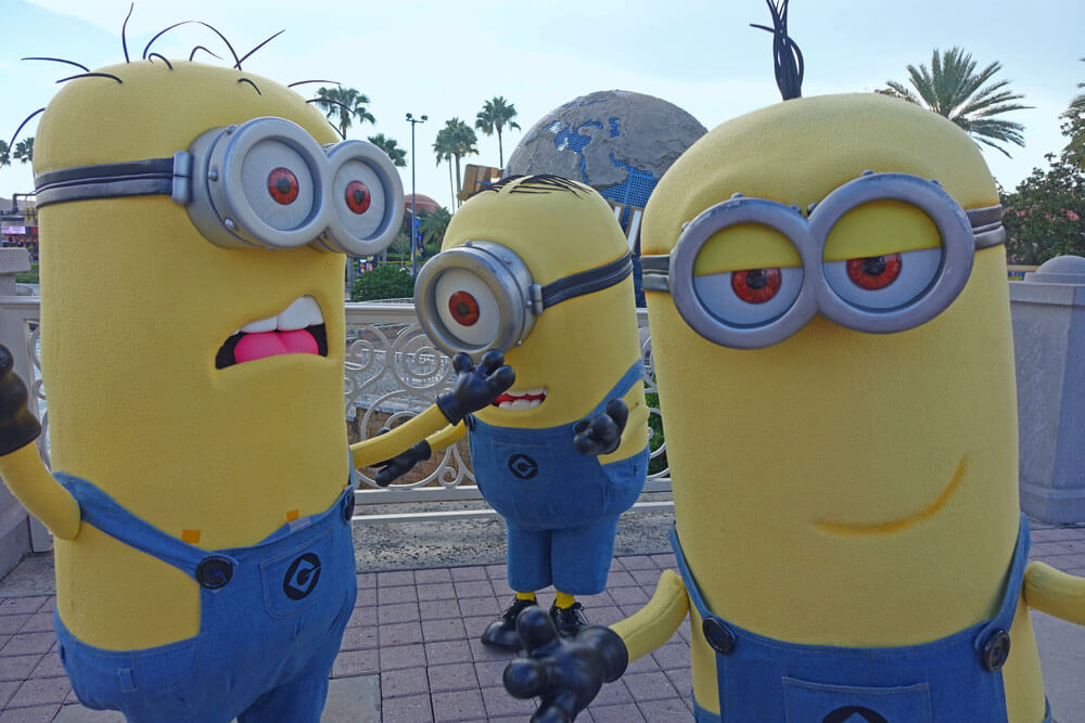 Choosing the Best Universal Orlando Ticket - Minions
