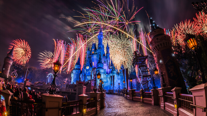 Celebrating New Year's Eve at Disney World - Fantasy in the Sky