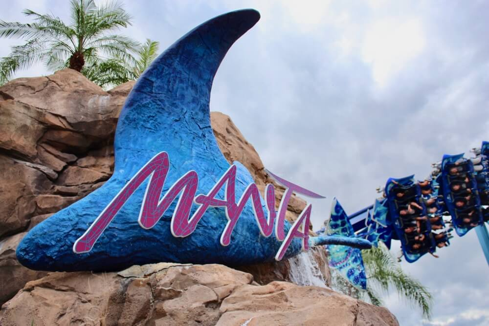 Annual Price Increease - Sea World Manta Coaster