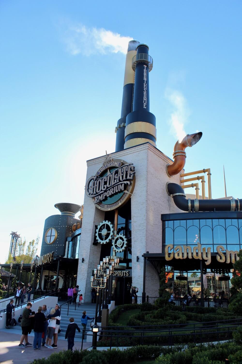 Toothsome Chocolate Emporium Review - Exterior