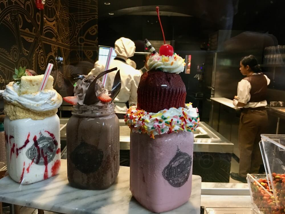 Toothsome Chocolate Emporium Review - Toothsome Milkshake