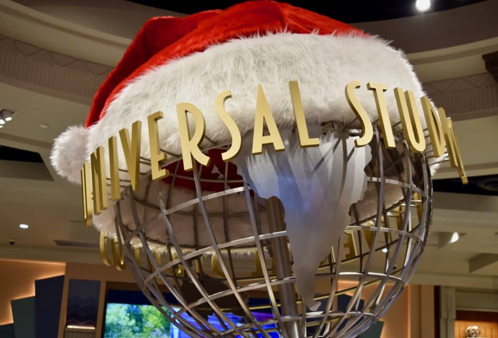 Universal Studios Hollywood Holiday Treats & Eats - Santa Globe