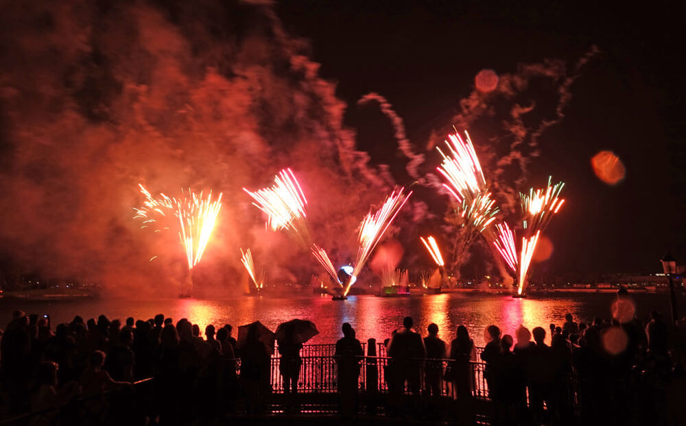 New Year's Eve at Disney World - IllumiNations at Epcot