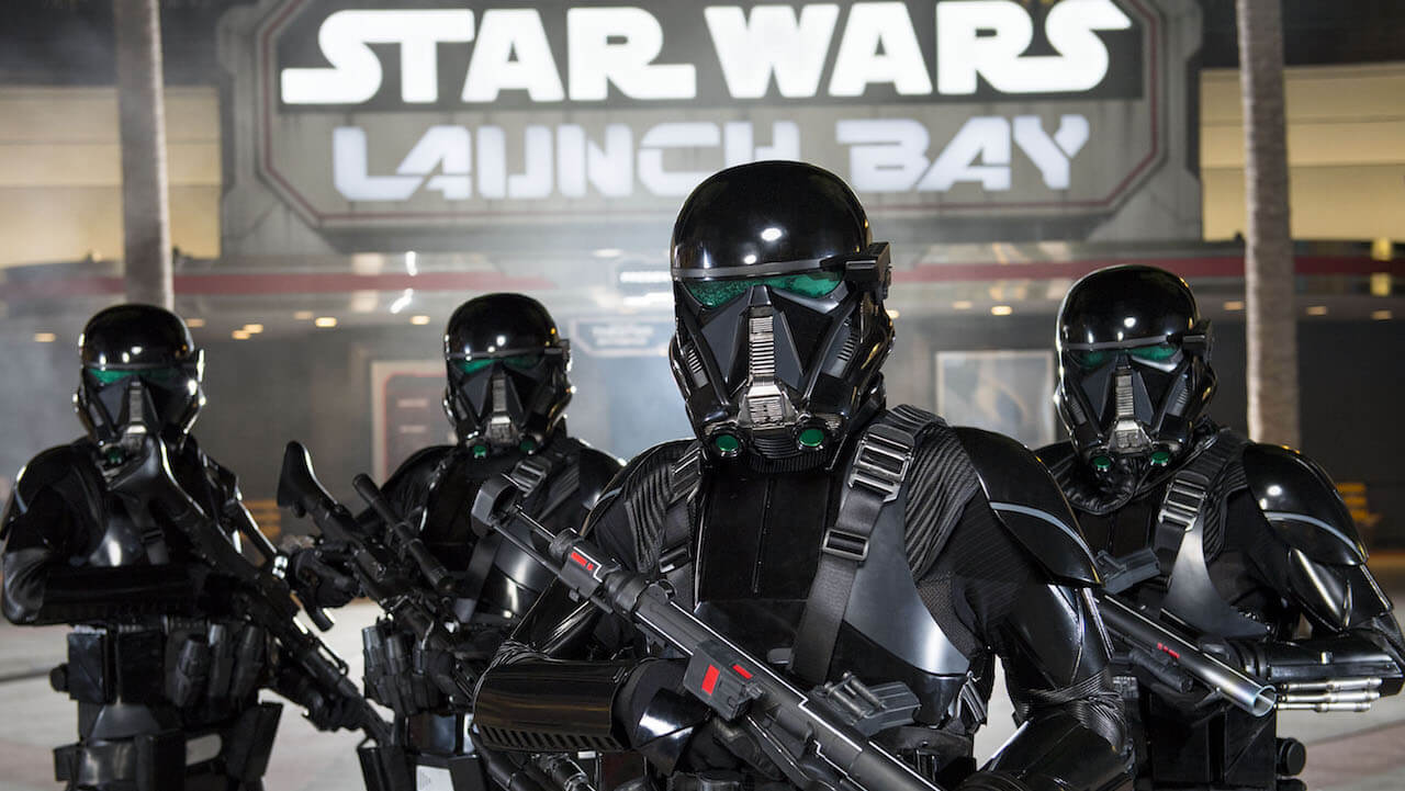 Rogue One - A Star Wars Story Arrives at Disney Parks