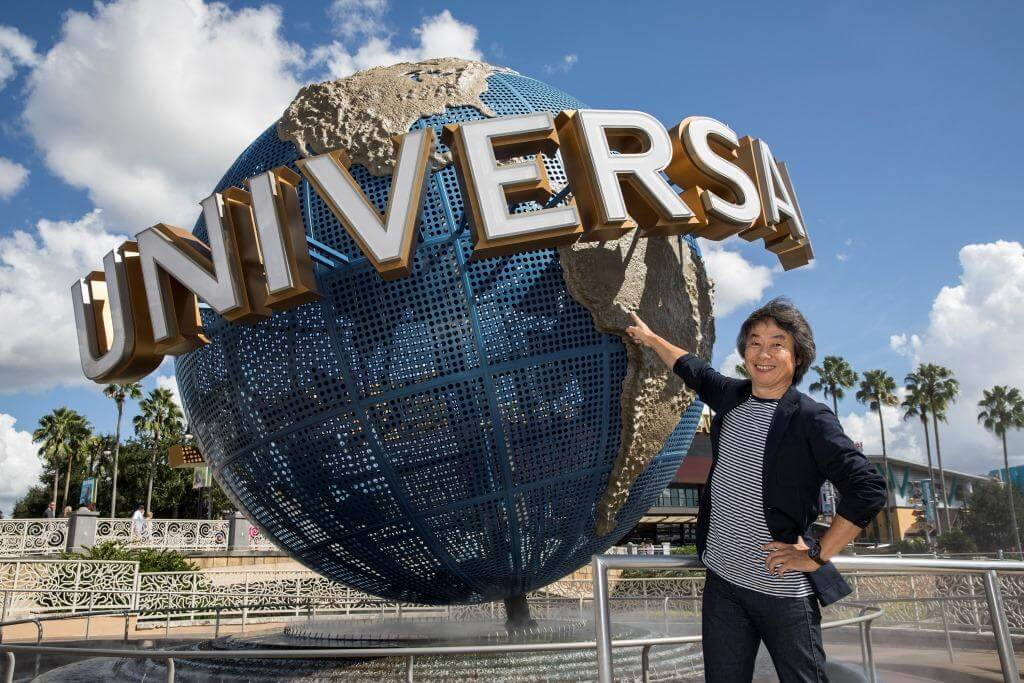 Shigeru Miyamoto with Nintendo - What's Coming to Disney World and Universal in 2018