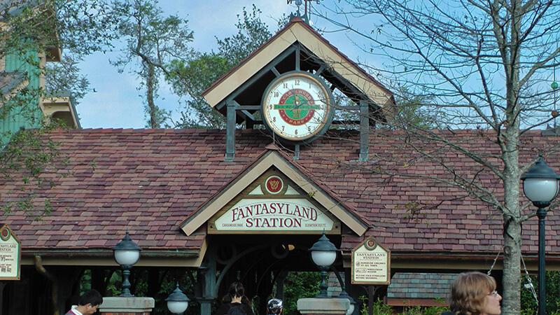 The Secret History of Disney Rides: Disney World Railroad - Fantasyland Station