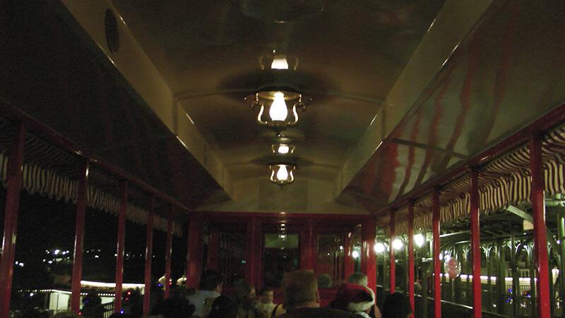 The Secret History of Disney Rides: Disney World Railroad - Inside Train