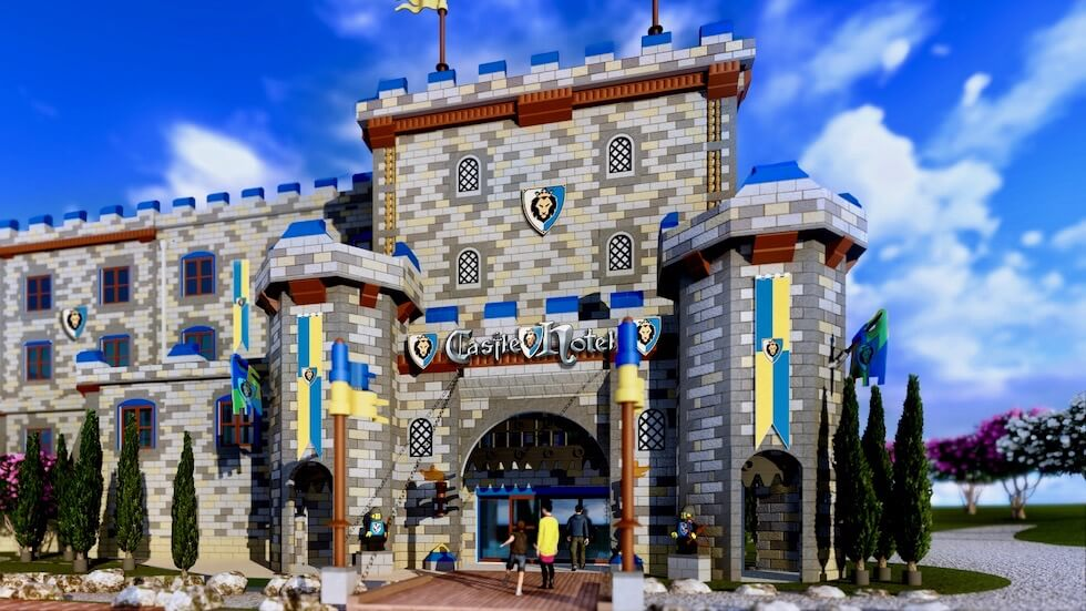 Legoland California Begins New Build - Castle Hotel