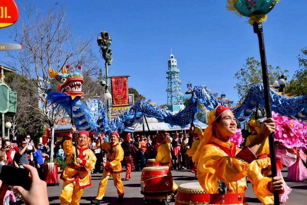 Celebrate Lunar New Year at Disney California Adventure