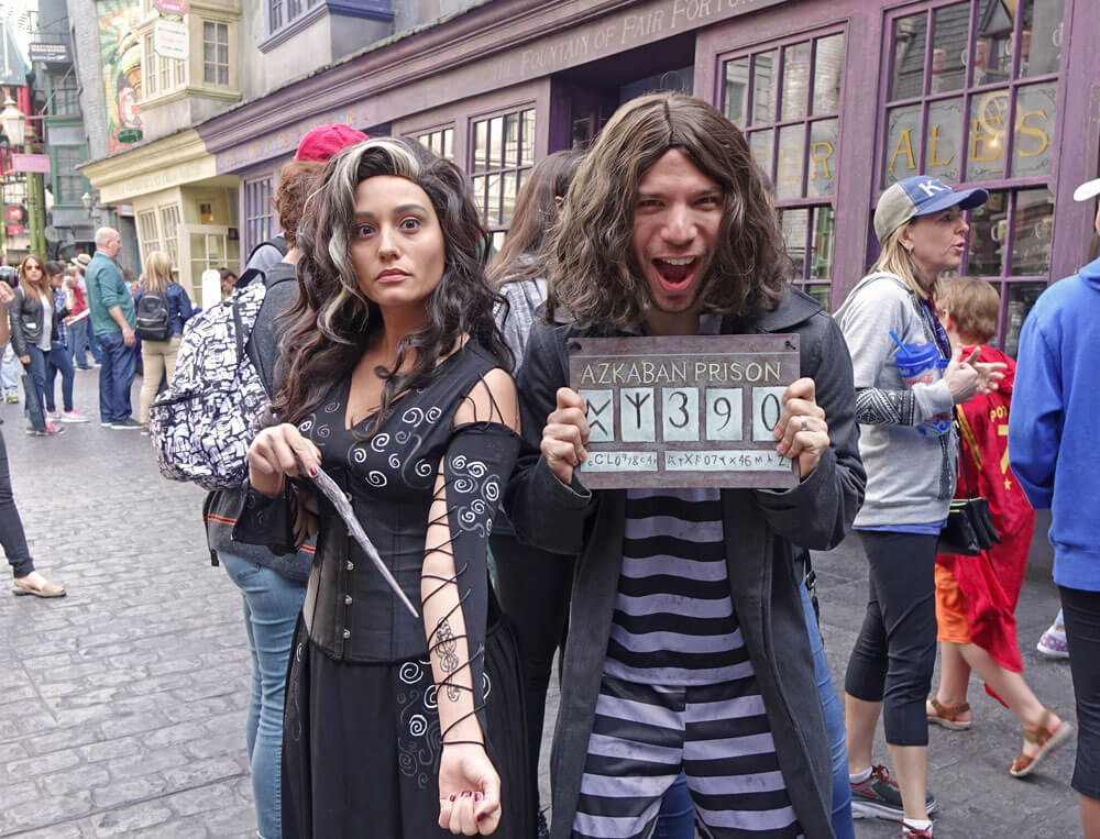 Celebration of Harry Potter 2018 Dates - Belatrix Lestrange and Sirius Black