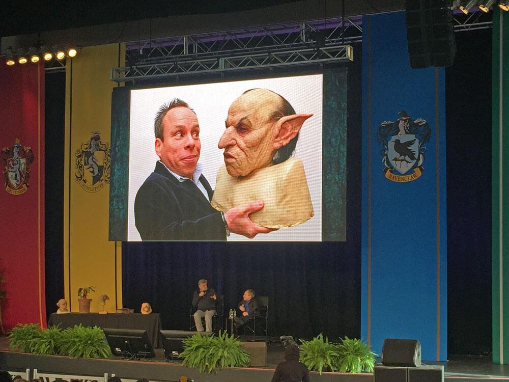 A Celebration of Harry Potter 2017 - Warwick Davis and Nick Dudman