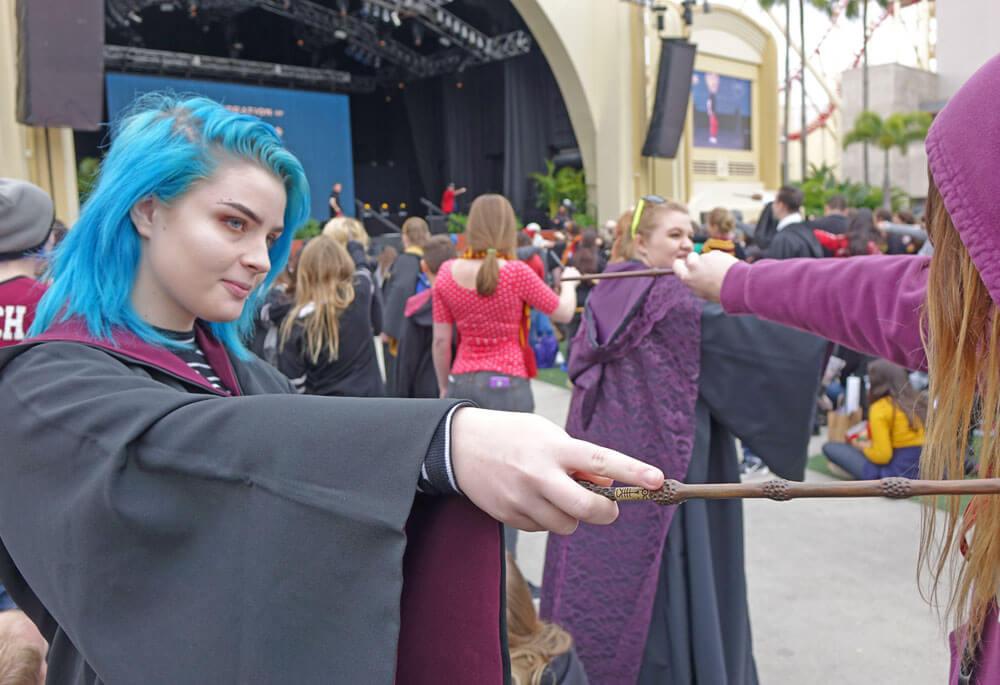 A Celebration of Harry Potter 2017 - Wand Combat