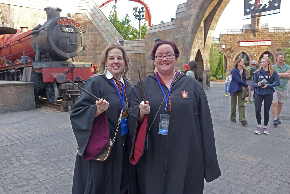 A Celebration of Harry Potter tips - Don't forget your wand
