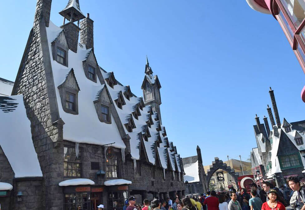 Best Time To Visit Universal Studios Hollywood - Hogsmeade