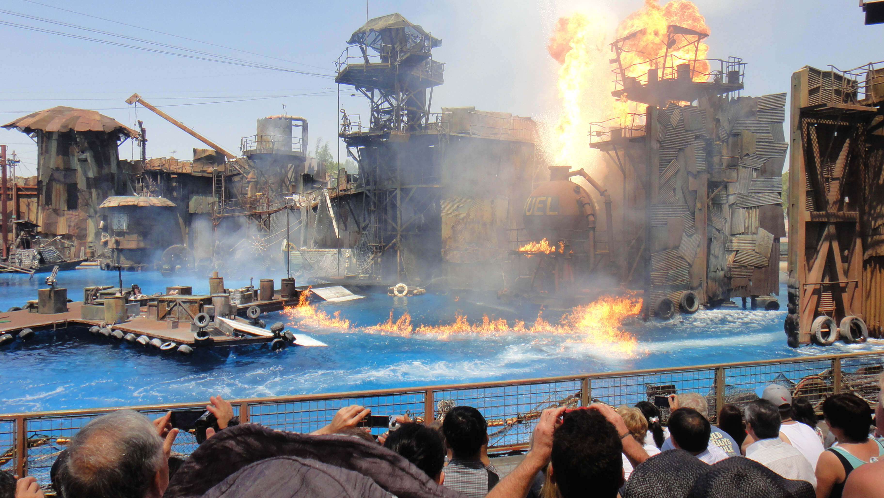 Best Time To Visit Universal Studios Hollywood - Waterworld