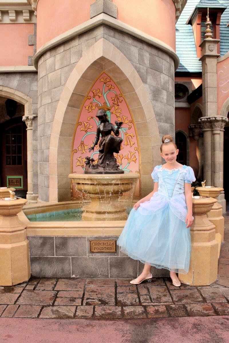 Bibbidi Bobbidi Boutique - Bippity Boppity Boutique - Cinderella Fountain