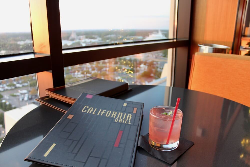 The 6 Best Bars and Lounges at Disney World - California Grill - Drink