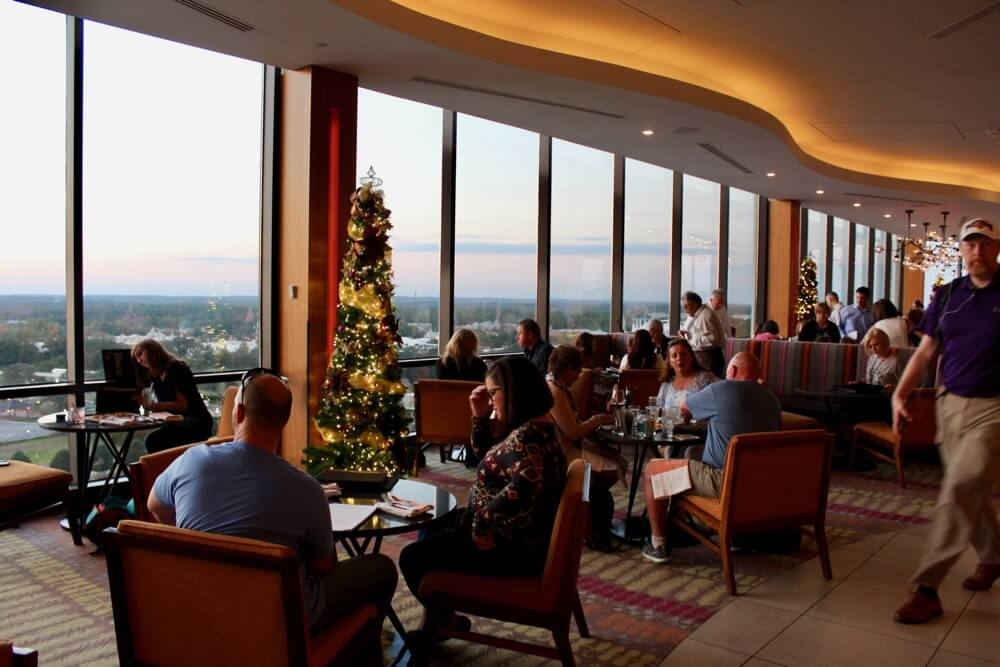 The 6 Best Bars and Lounges at Disney World - California Grill - Interior