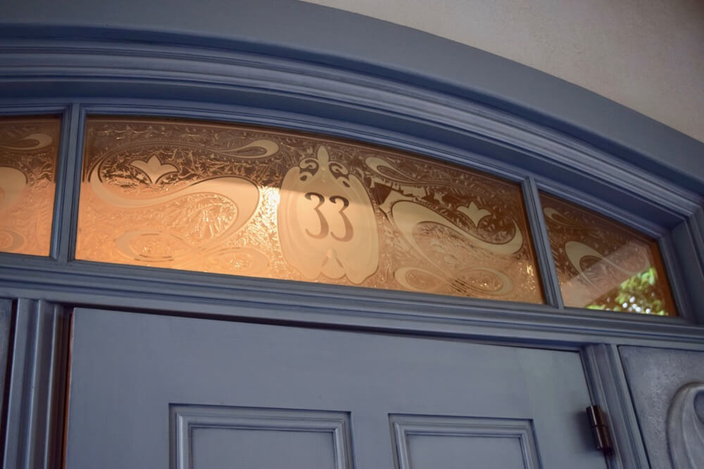 A Look Inside Disneyland Club 33 - Club 33 Doorway