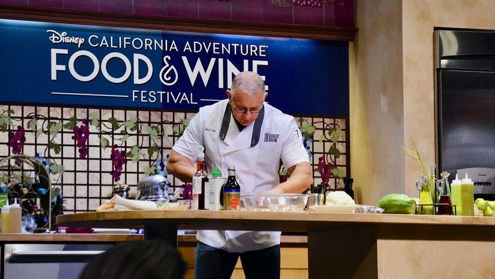 Disney California Adventure Food and Wine Festival - Celebrity Chefs