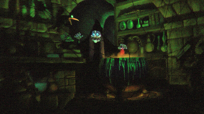The Secret History of Disney Rides: Snow White's Scary Adventures - Evil Witch
