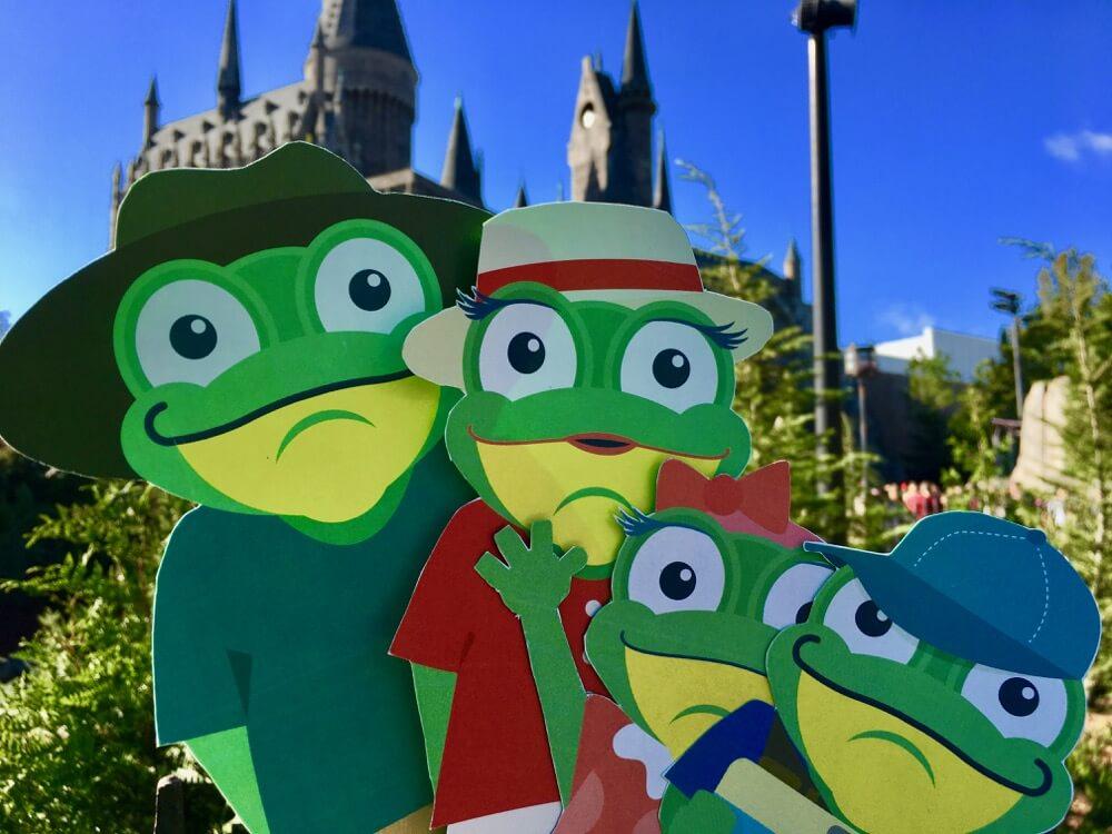 Best Selfie Spots at Universal Orlando - Hogwarts