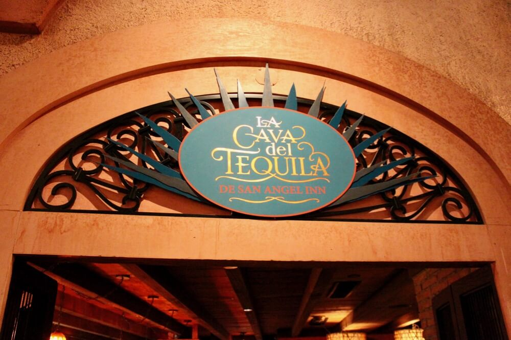 The 6 Best Bars and Lounges at Disney World- La Cava - Signage