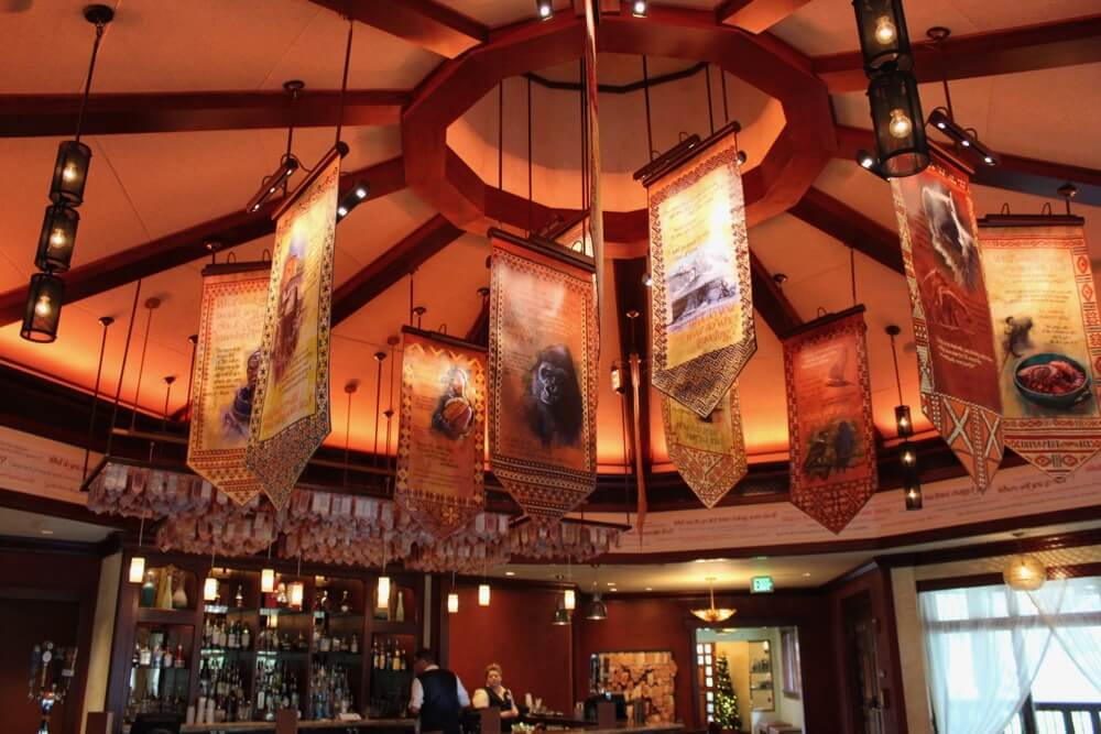 The 6 Best Bars and Lounges at Disney World - Nomad Lounge - Interior