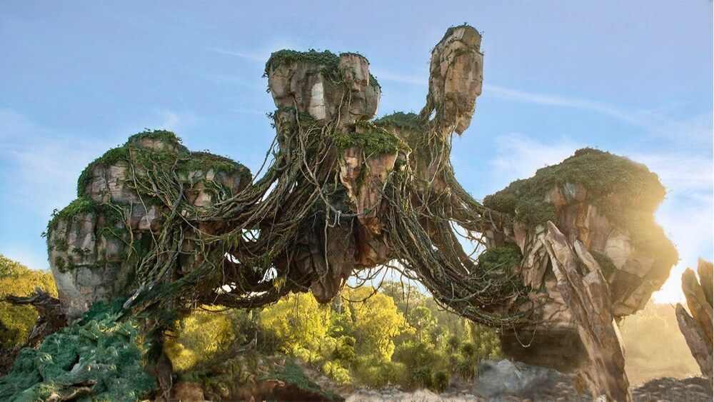 Extra Magic Hours at Pandora - Pandora Floating Mountains
