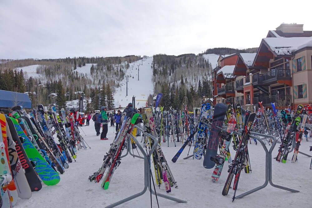 Tips for a Family Ski Trip - Ski Storage