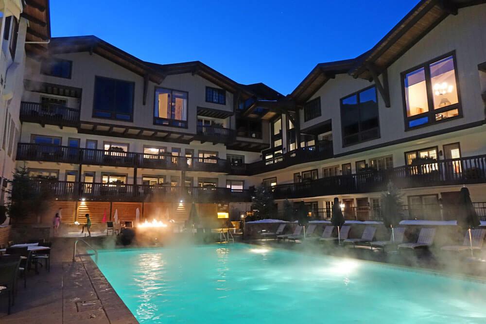 Saving on a Family Ski Trip - The Lodge at Vail pool