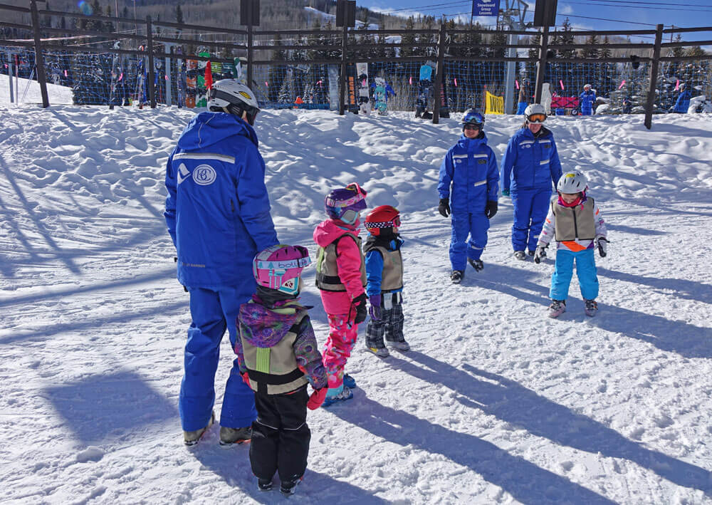 Saving on a Family Ski Trip - Ski Lessons