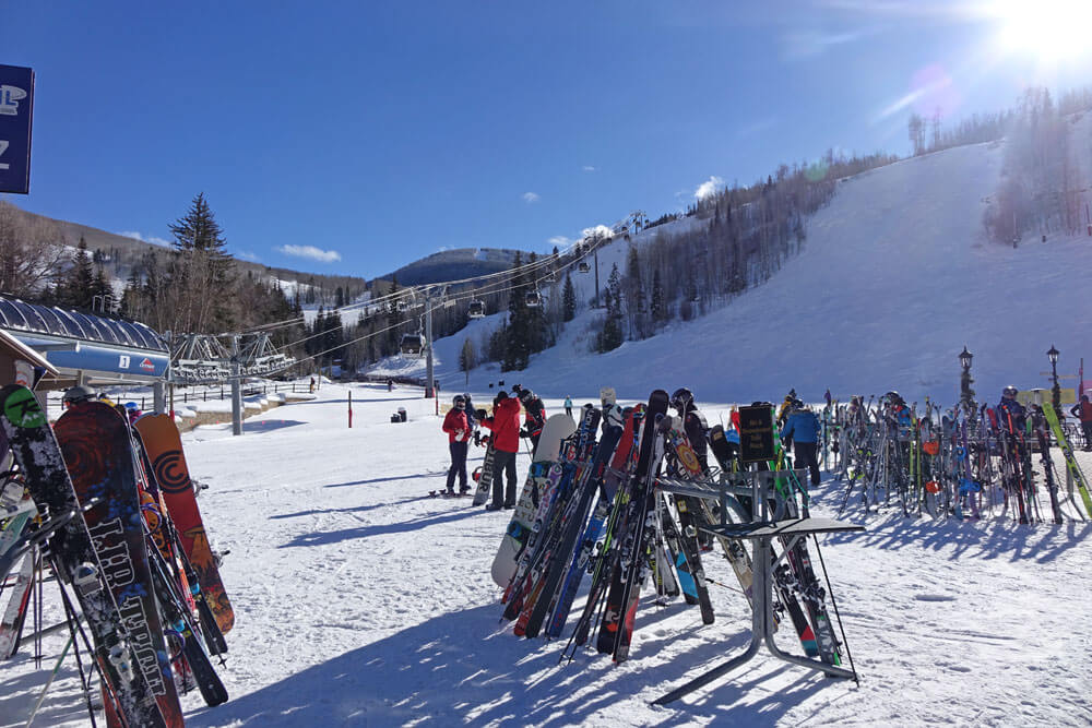 Saving on a Family Ski Trip - Skis