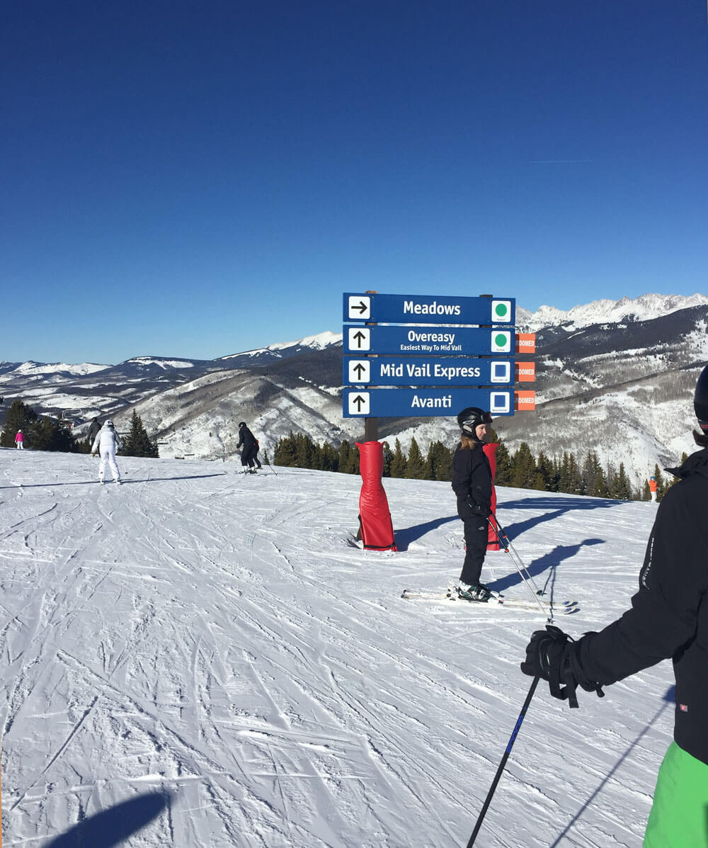 Tips for a Family Ski Trip - Top of Vail Mountain
