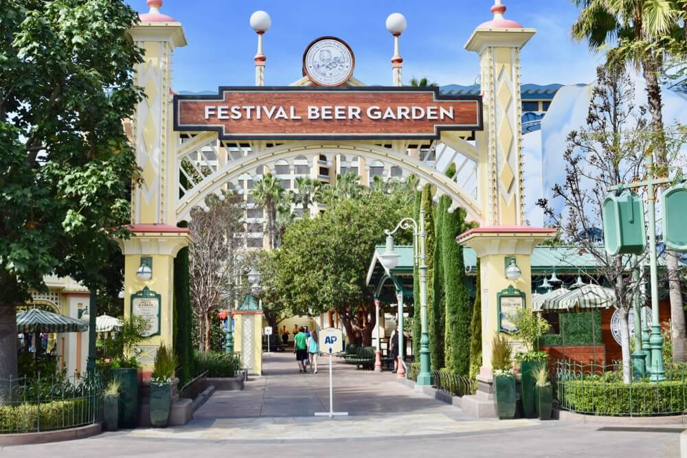 Disney California Adventure Food and Wine Festival - Beer Garden