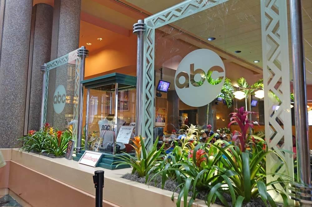 Disney's Hollywood Studios Dining - ABC Commissary