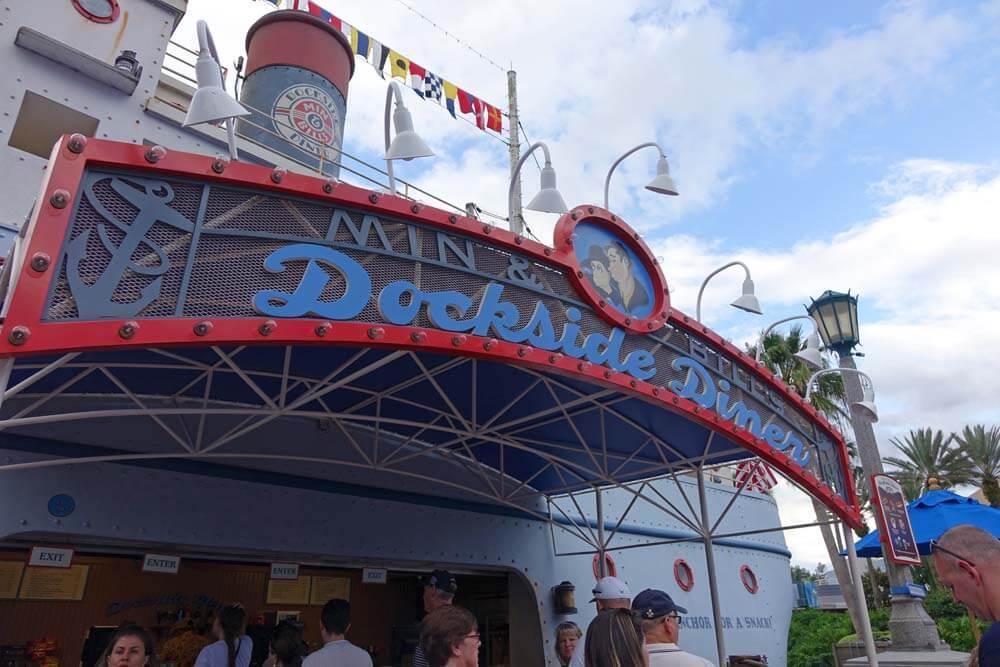 Disney's Hollywood Studios Dining - Min & Bill's Dockside Diner