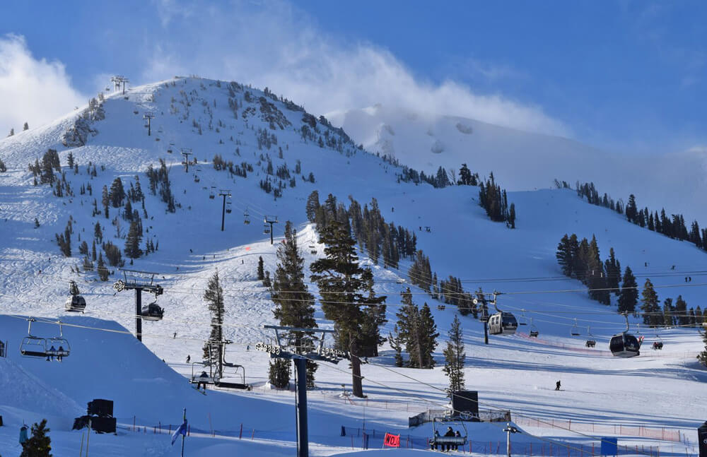 When Is the Best Time to Book a Ski Vacation - Sunny Ski Day