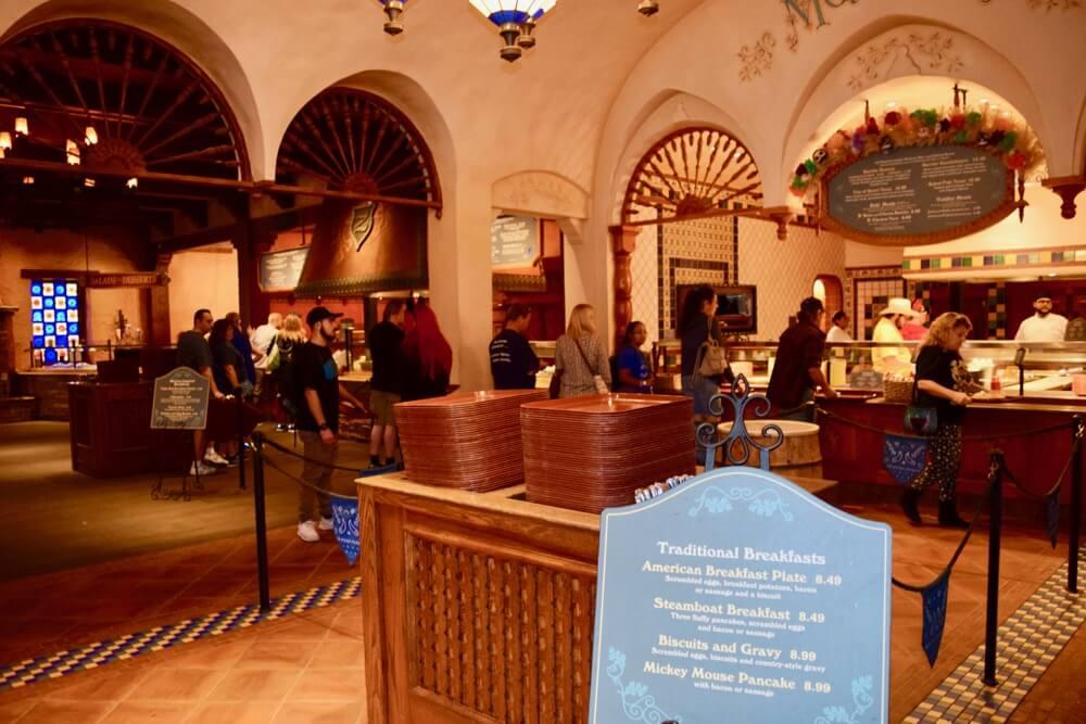 Disneyland Quick Service Restaurants - Rancho Del Zocolo