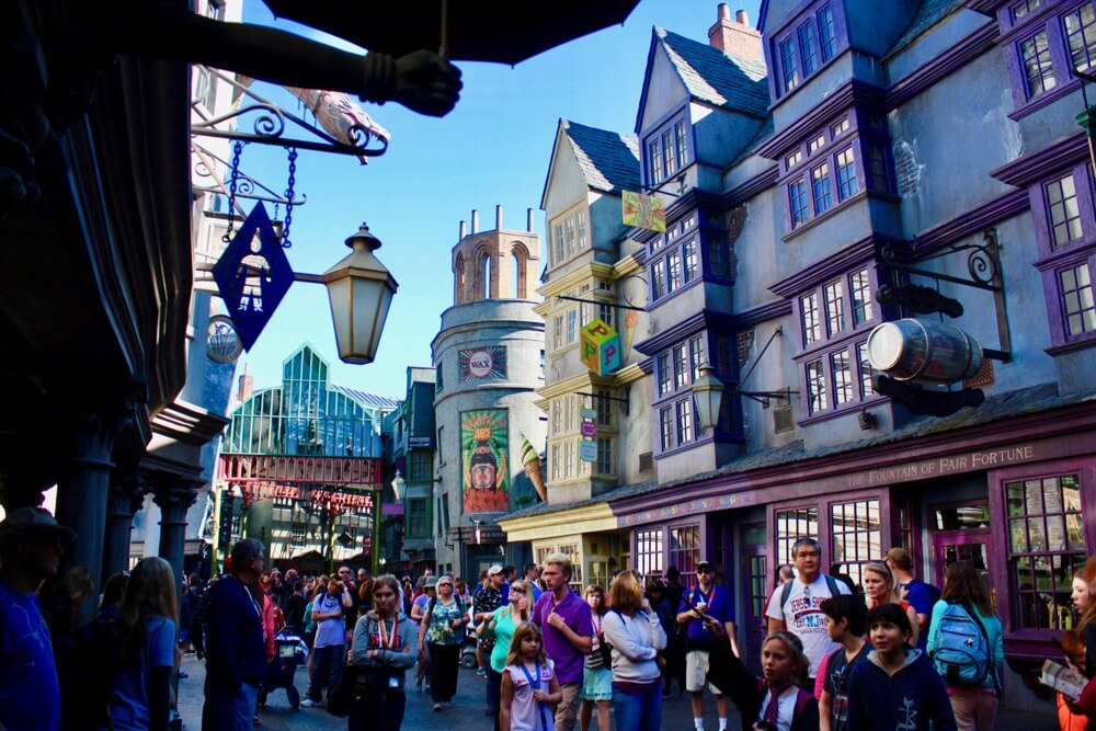 Overcoming Motion Sickness at Universal Orlando - Diagon Alley at Universal Studios