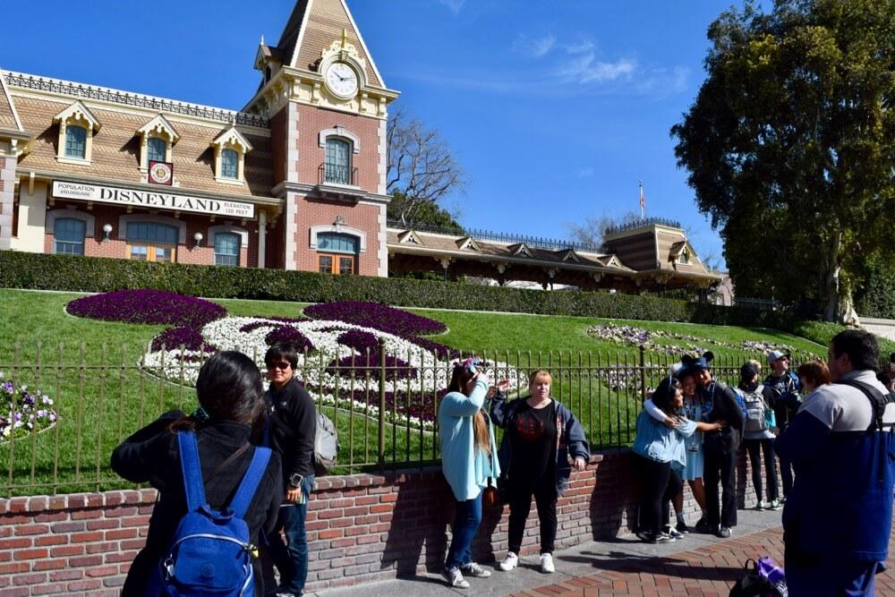 Disneyland Spring Break 2017 Survival Tips - Disneyland Floral Portrait