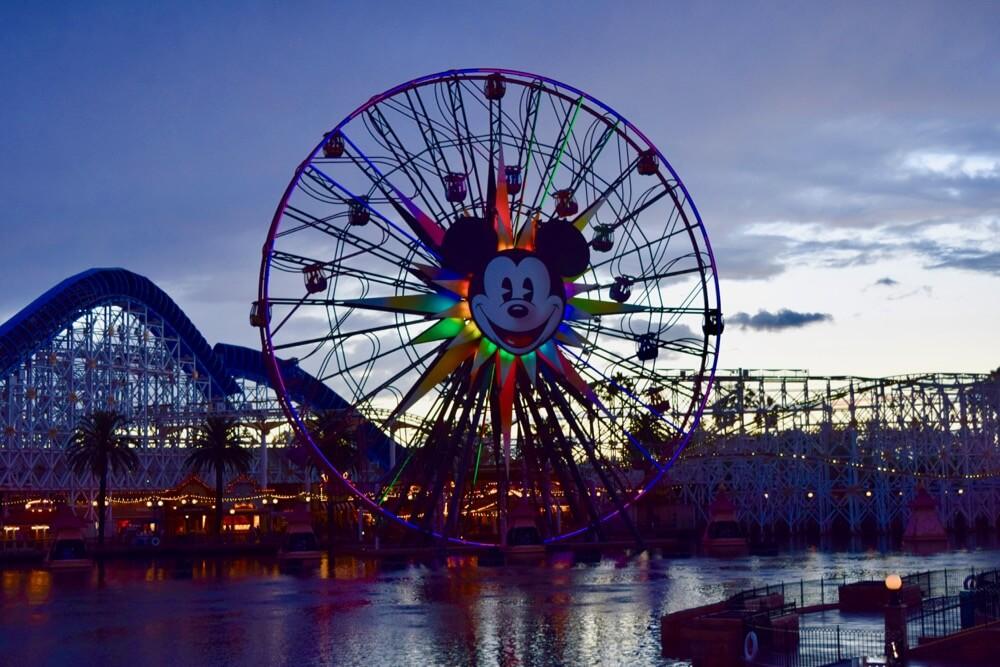 Disneyland Rainy Day Tips - Mickey's Fun Wheel