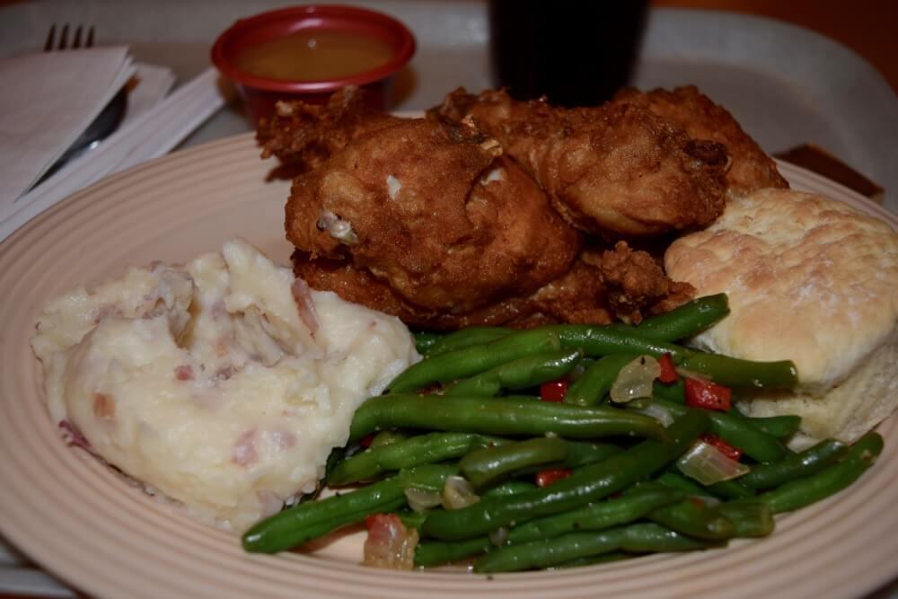 Disneyland Quick Service Restaurants - Plaza Inn Chicken