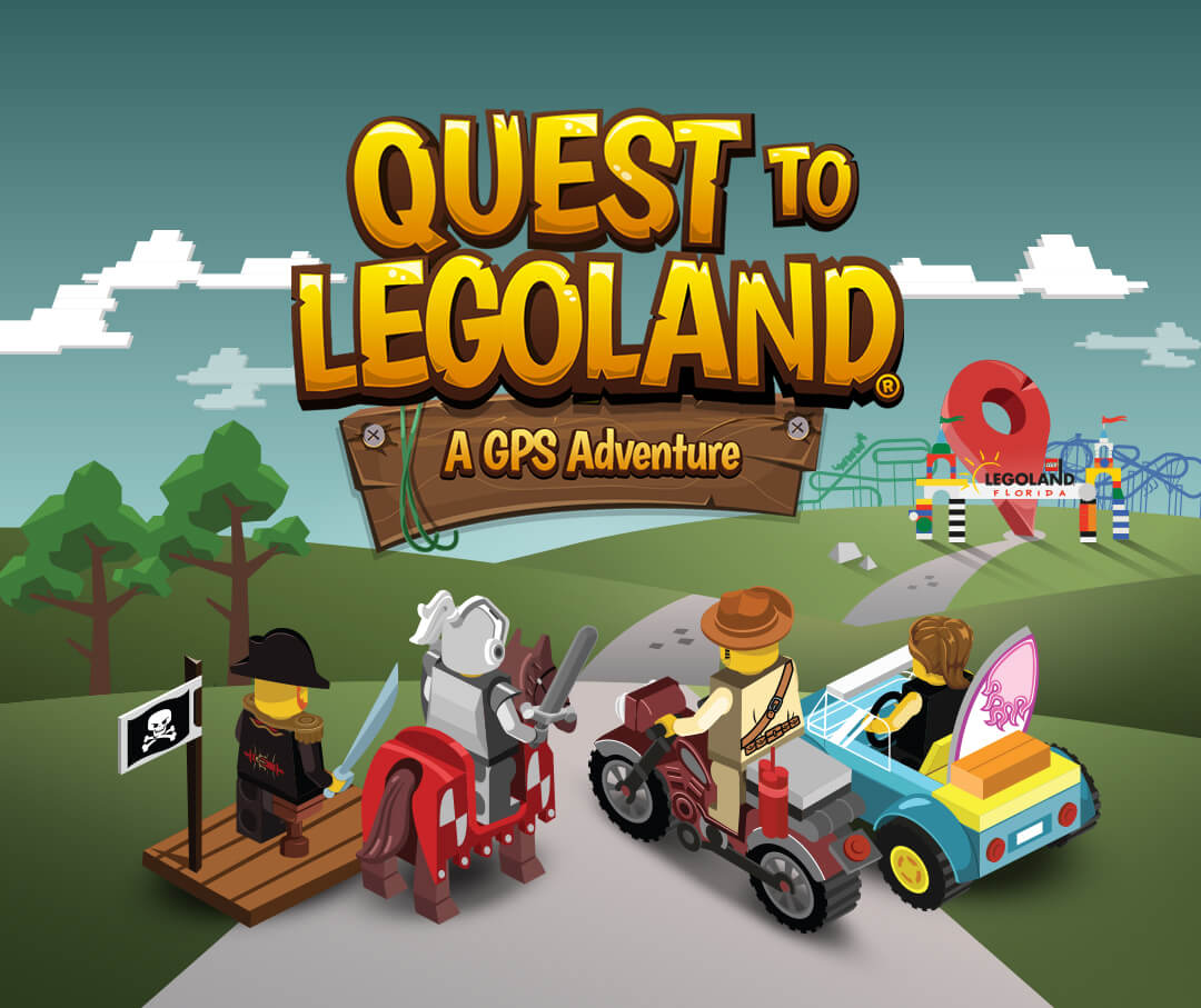 Quest to LEGOLAND Game - Quest to LEGOLAND logo