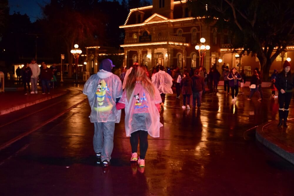 Disneyland Rainy Day Tips - Ponchos and Disneyland City Hall