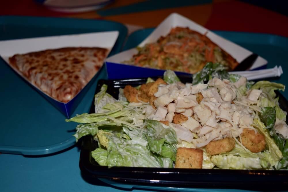 Disneyland Quick Service Restaurants - Red Rockett's Pizza Port